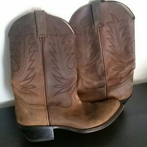 Women's Durango leather western boots